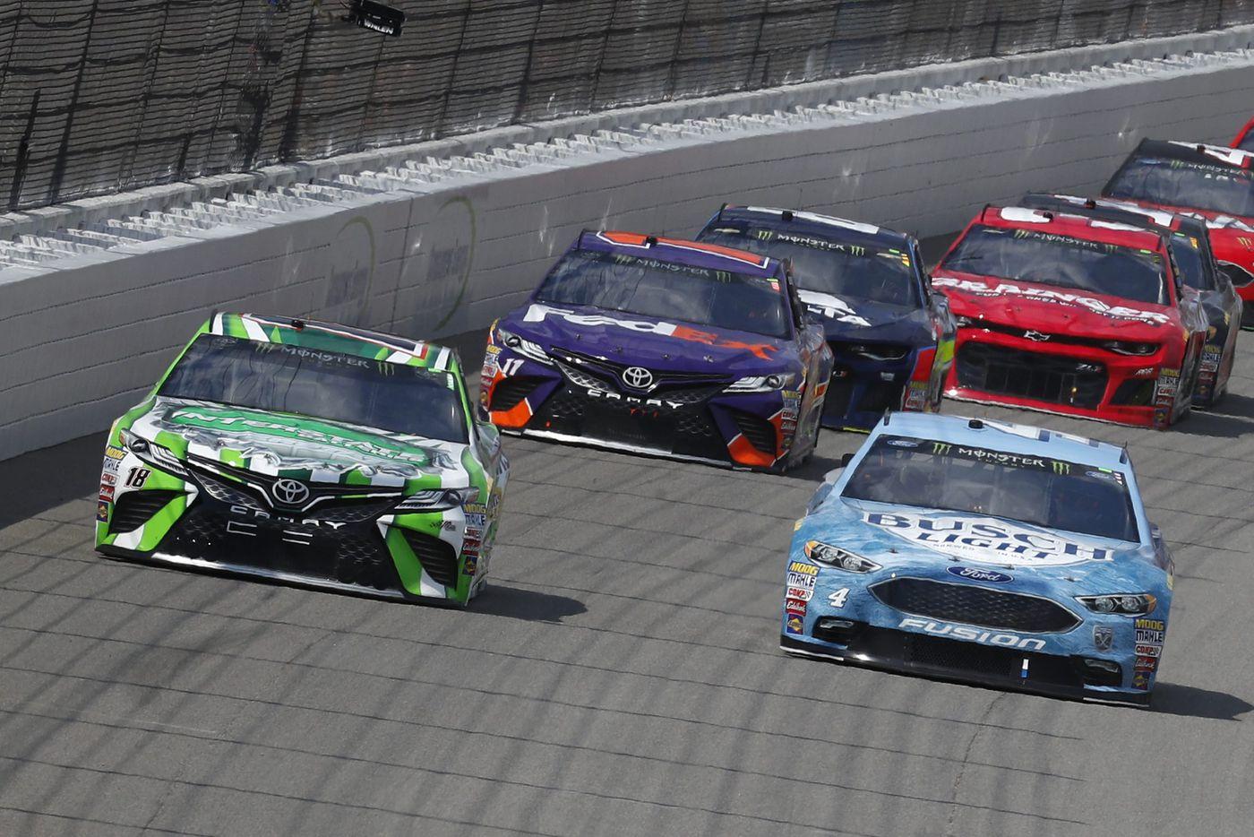 NASCAR's Monster Energy Series speeds to end of regular season