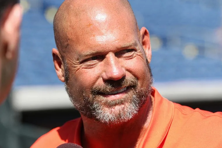Former Phillies catcher Darren Daulton.