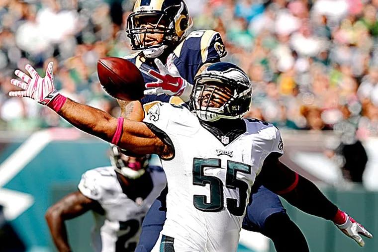Eagles linebacker Brandon Graham. (Ron Cortes/Staff Photographer)