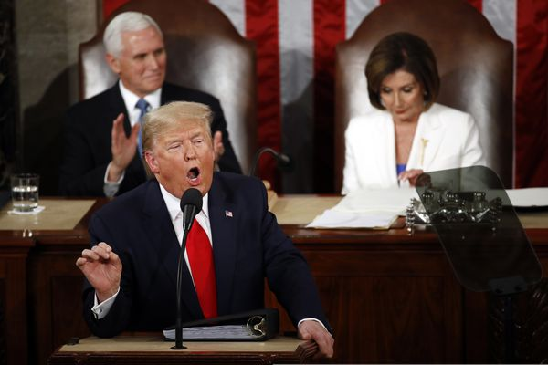 The most horrifying thing about Trump's State of the Union? The 2 words he never said. | Will Bunch