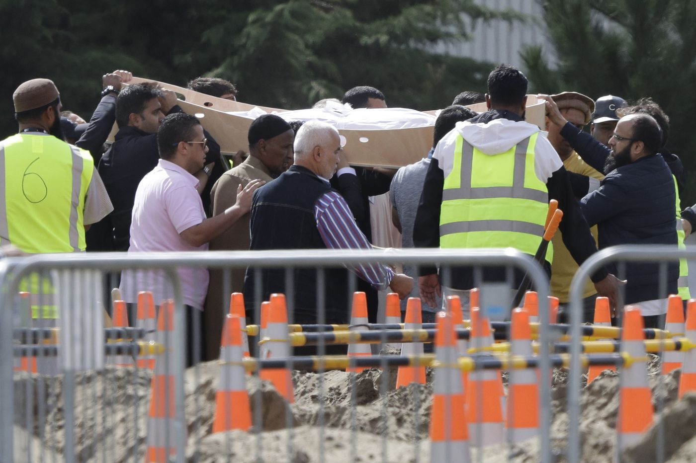 Father and son who fled Syria are buried in New Zealand