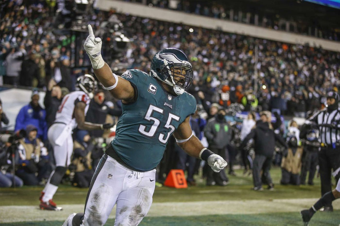 After a long absence, the NFL playoff spotlight returns, and Eagles' Brandon Graham savors it