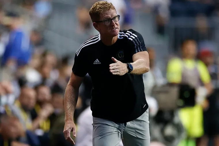 Union manager Jim Curtin,