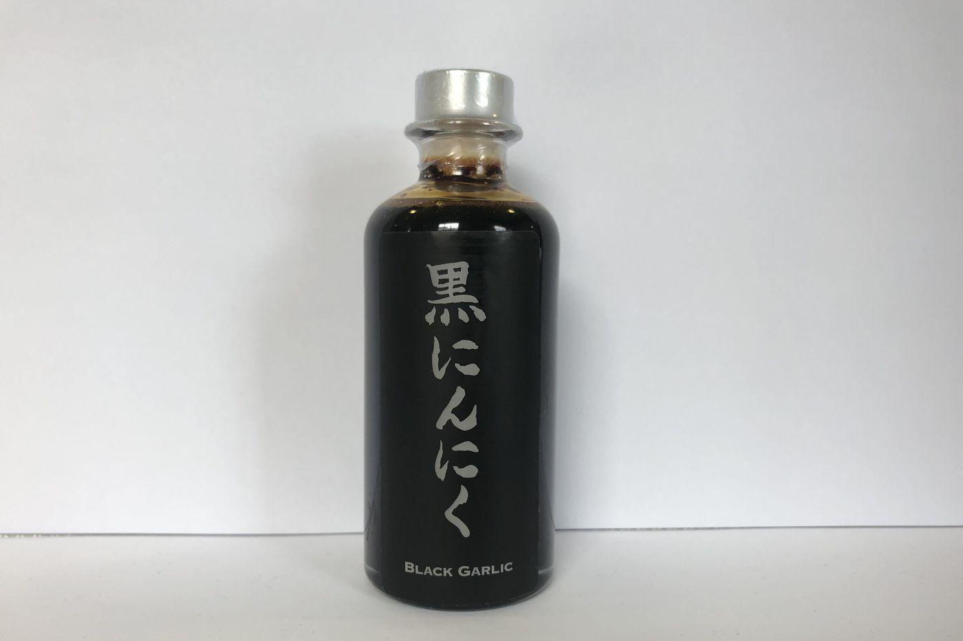 Black garlic molasses is big in Japan