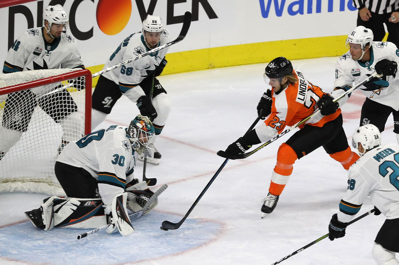 In youngsters Oskar Lindblom and Mikhail Vorobyev, Flyers have to hope help is on the way | Mike Sielski