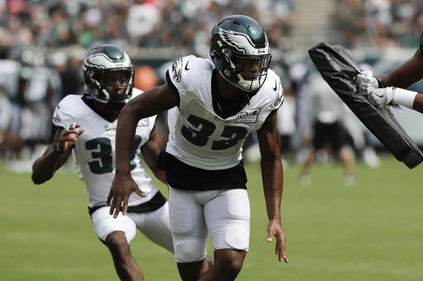 Rasul Douglas at nickel cornerback? The Eagles are happy with him on the outside