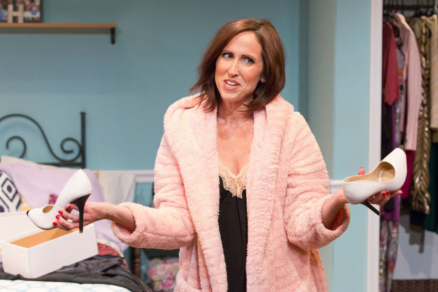 'Bad Dates' at Act II Playhouse: A little behind the times, but the shoes are dazzling