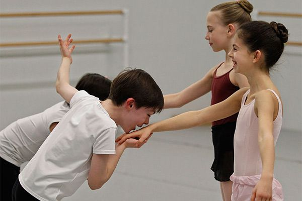 Small dancers with medium-size ballet shoes to fill