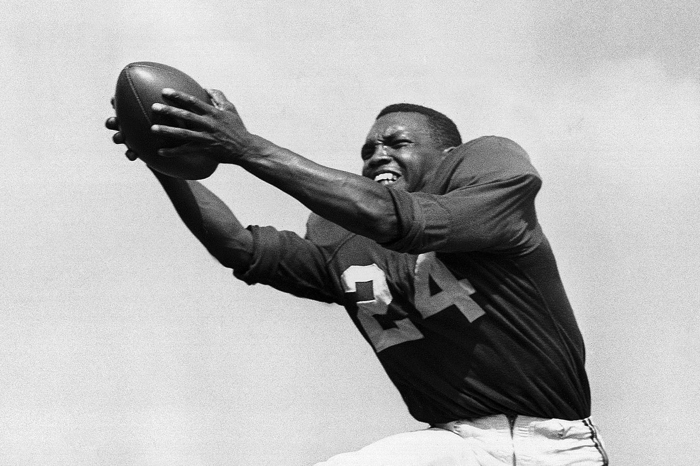 Wally Triplett (1926 - 2018), pioneering National Football League  running back