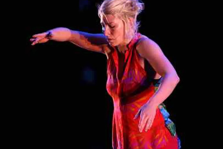 """Megan Mazarick danced her """"Untitled Duet."""" Susan Hess' two signature projects will move to a new venue."""