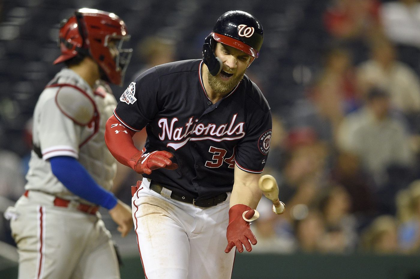 Phillies fall to Nationals, lose third straight to fall another game behind in NL East