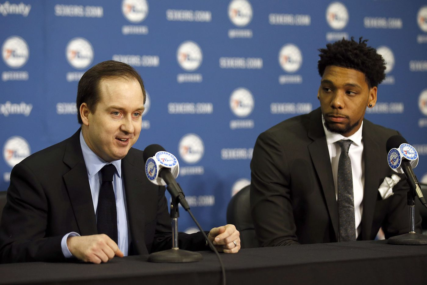 How Sam Hinkie and Bryan Colangelo managed the Sixers' draft 'Process'