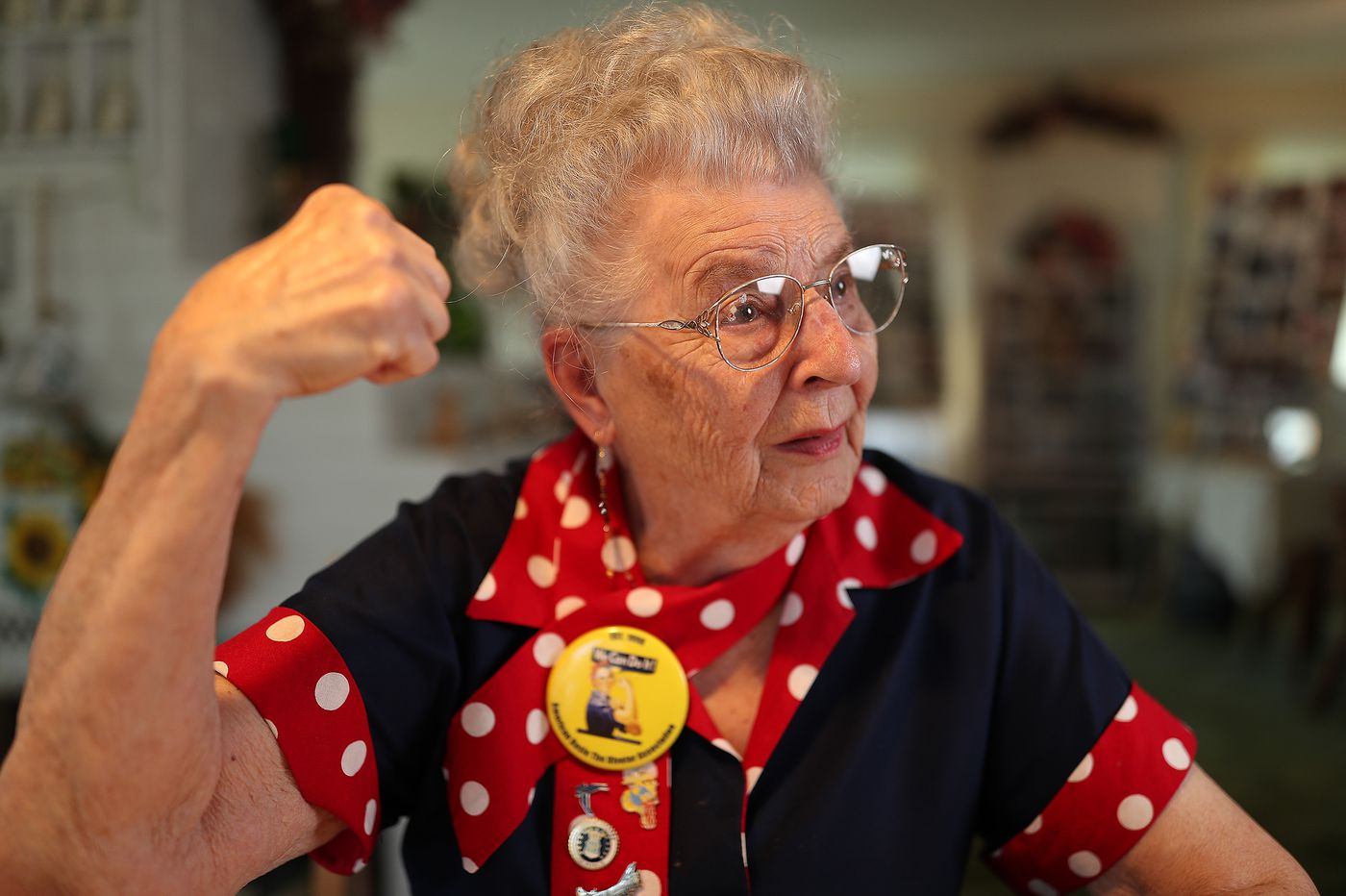 An original Rosie the Riveter from Bucks vies for Congressional Medal, remembering how she helped save the world