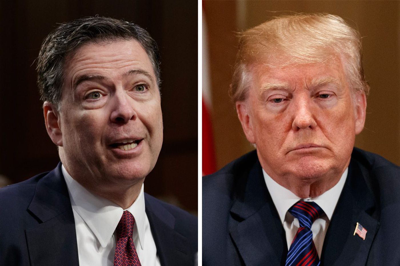 Trump lashes out at James Comey after new book reveals an odd request