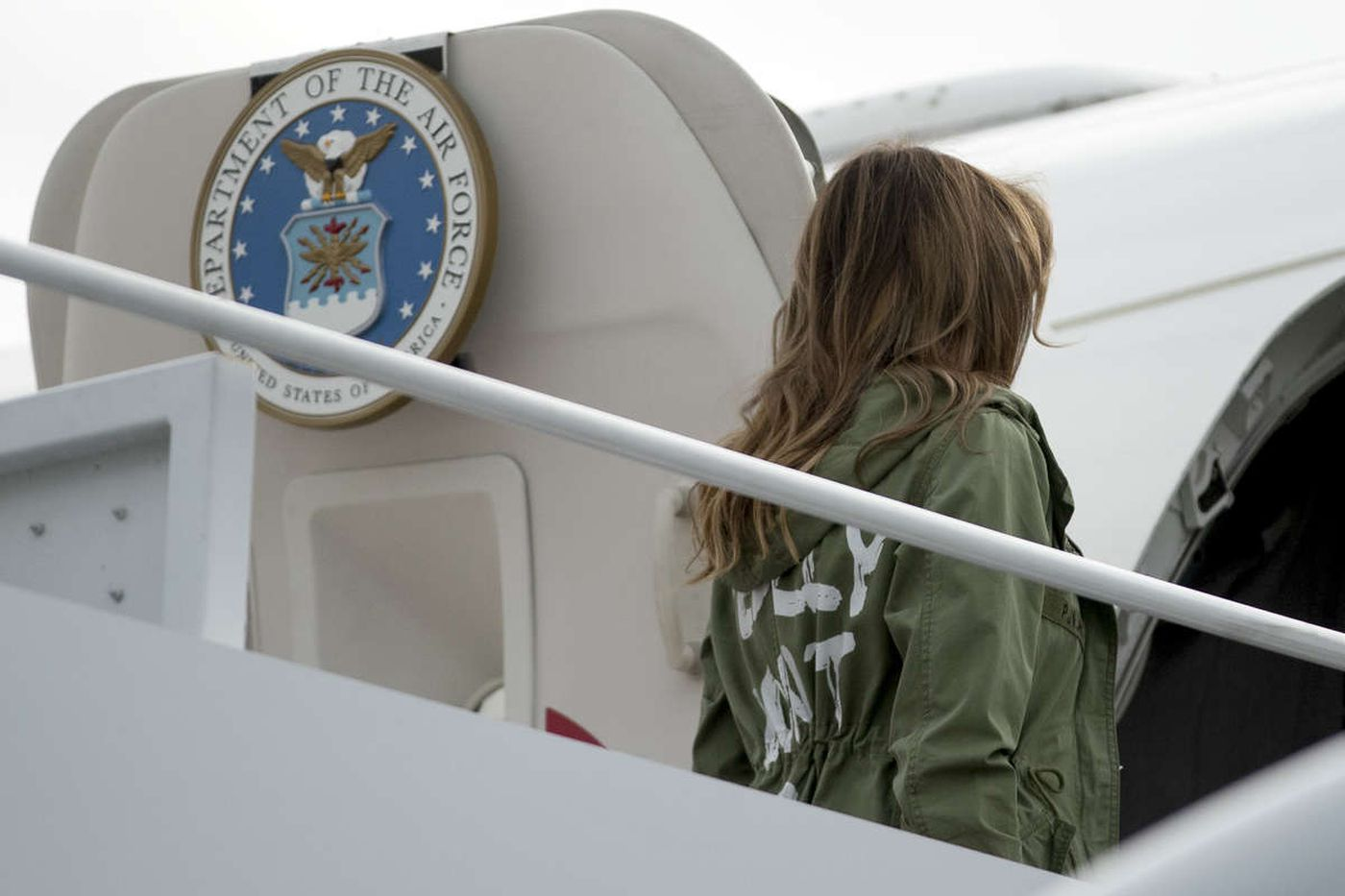 Don't be distracted from the immigration crisis by Melania Trump's fake fashion choice   Jenice Armstrong