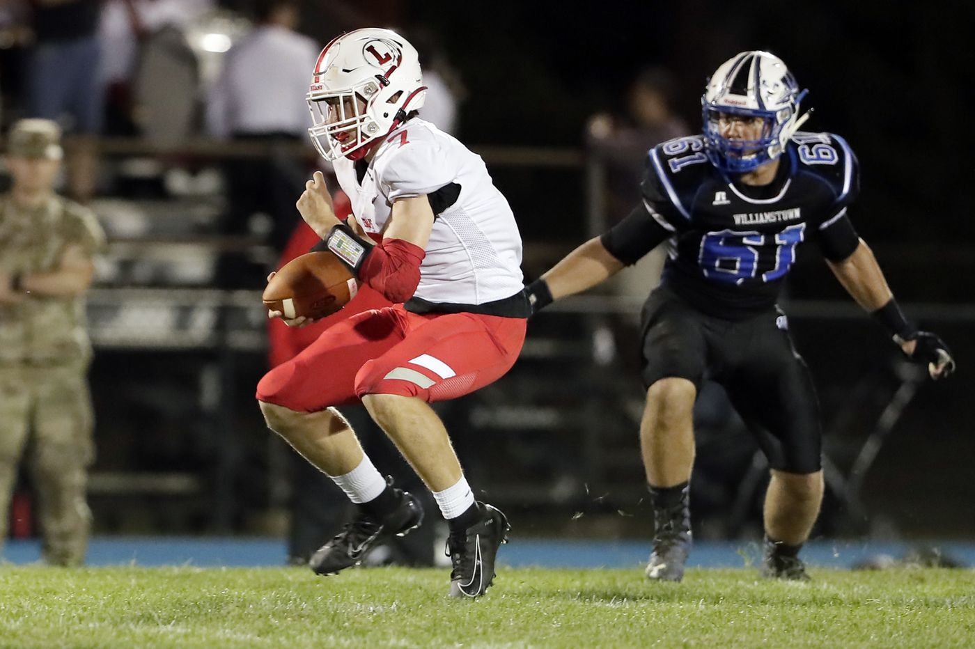 Friday's South Jersey roundup: Hamza Bruce leads Lenape to blowout win