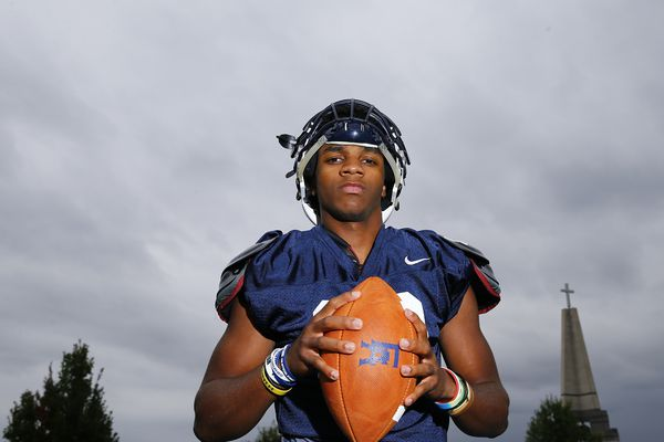 Quarterback Maurcus McDaniel does it all for unbeaten Episcopal Academy