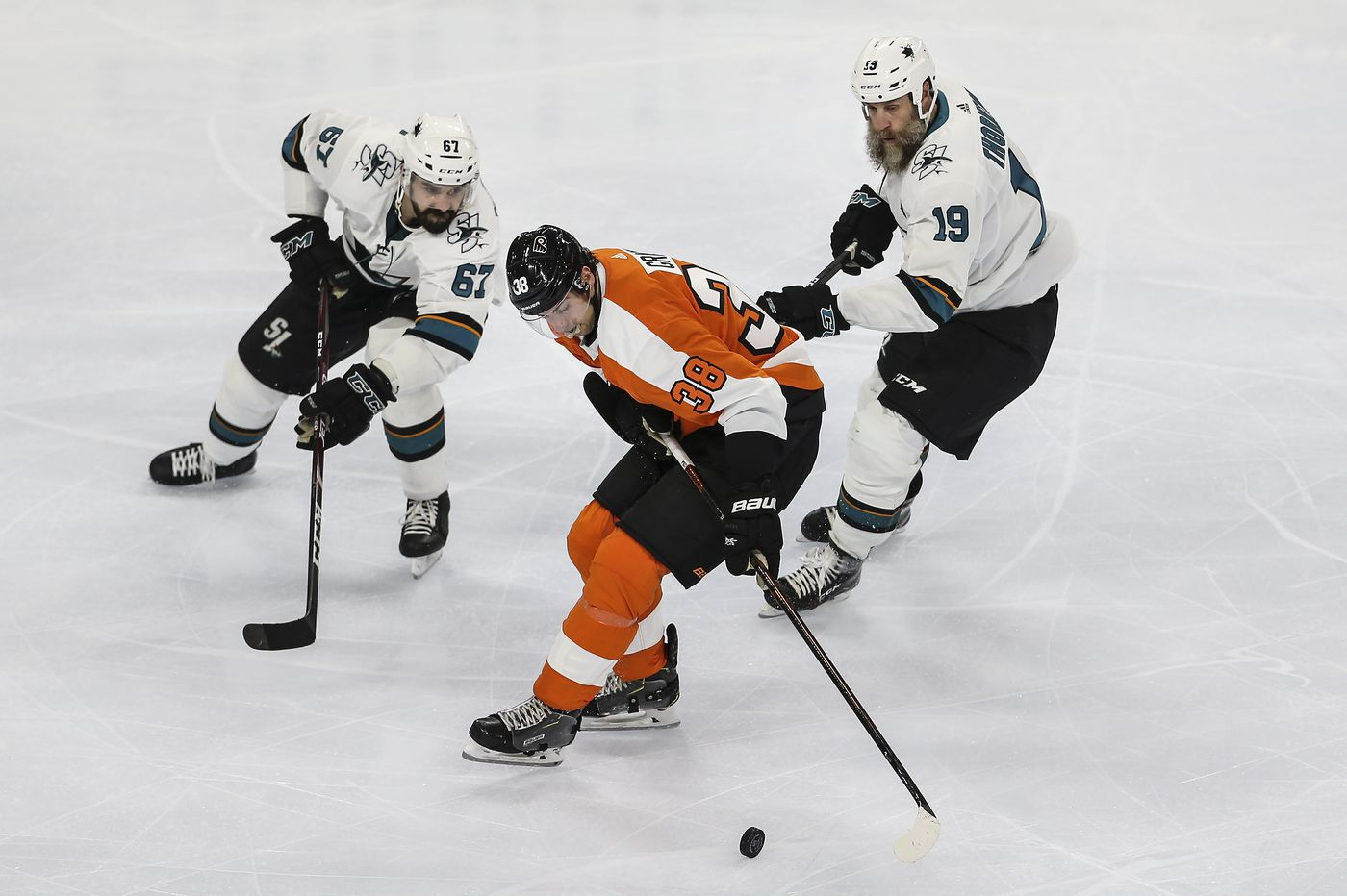 Surging Flyers' newcomers getting acclimated; New York Rangers offer next challenge