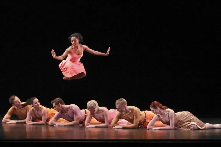 """The cast of """"Esplanade,""""  presented by the Paul Taylor Dance Company."""