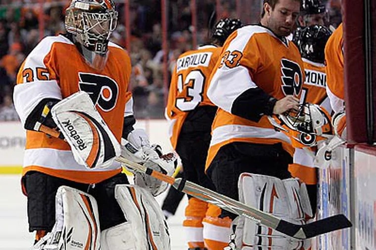 The Flyers' loss to Florida snapped their five-game winning streak. (Yong Kim/Staff Photographer)