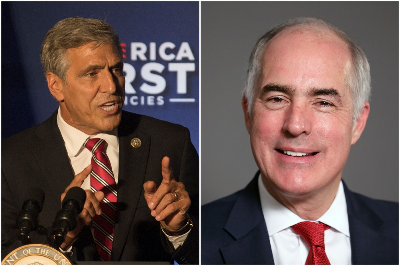 What makes an effective federal lawmaker? Bob Casey and Lou Barletta joust on question