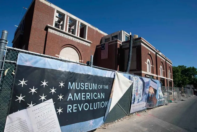 """The American Revolution museum reported an additional donation of $10 million has been made by H.F. """"Gerry"""" Lenfest."""