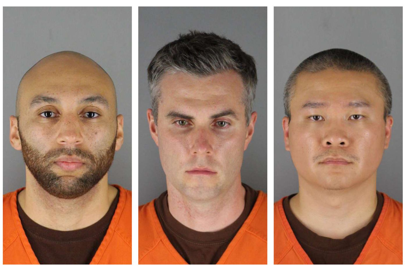 $750K bail set for 3 fired Minneapolis police officers accused in George Floyd's death; 2 were rookies