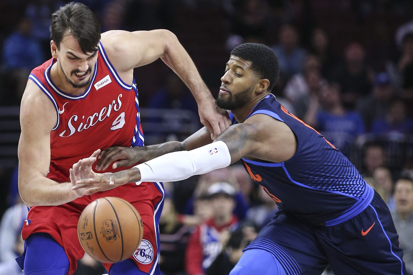 Sixers target Paul George to re-sign with Thunder, spurn Lakers in NBA free agency
