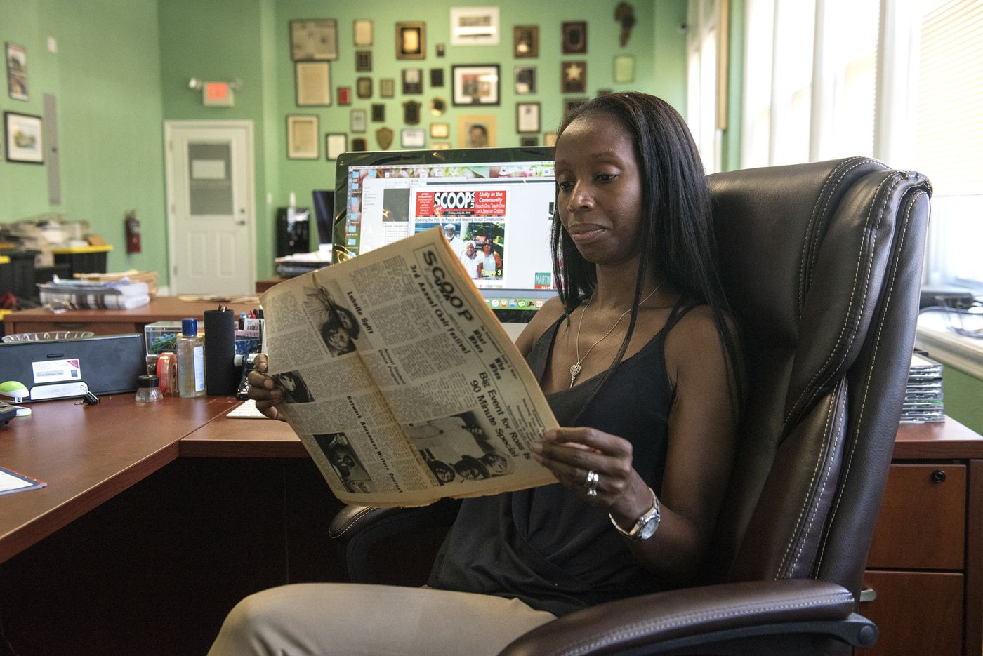 New publisher of Philly's Scoop USA keeps a black-owned newspaper going with faith and own funds
