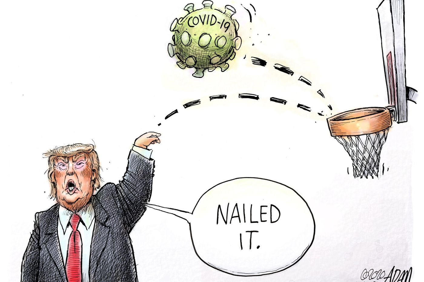 10 cartoons that capture America's response to coronavirus | Opinion