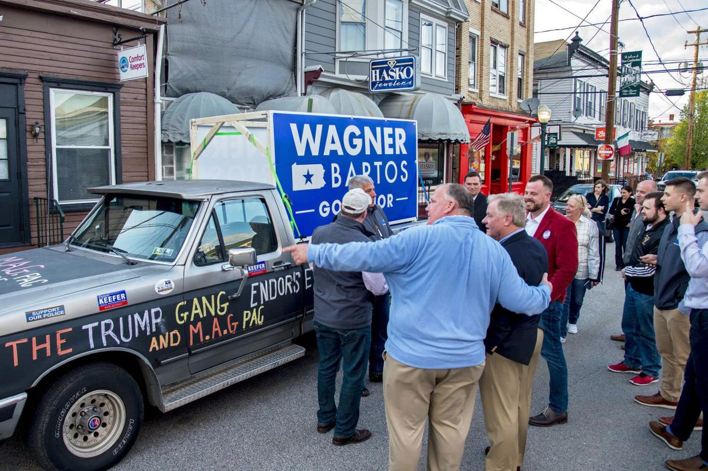 From trashman to governor? GOP hopeful Scott Wagner wants to be Pa. 'cleanup guy'