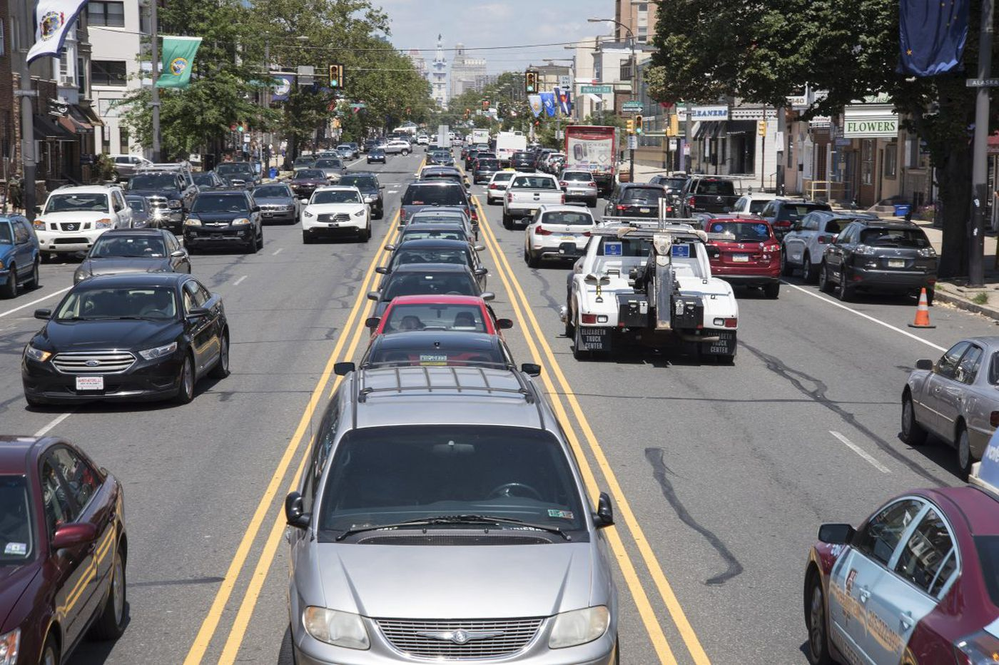 Median parking on South Broad Street is dangerous and must end ...