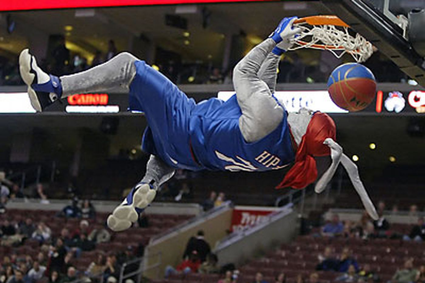 Sixers 86 Their Hip Hop Mascot