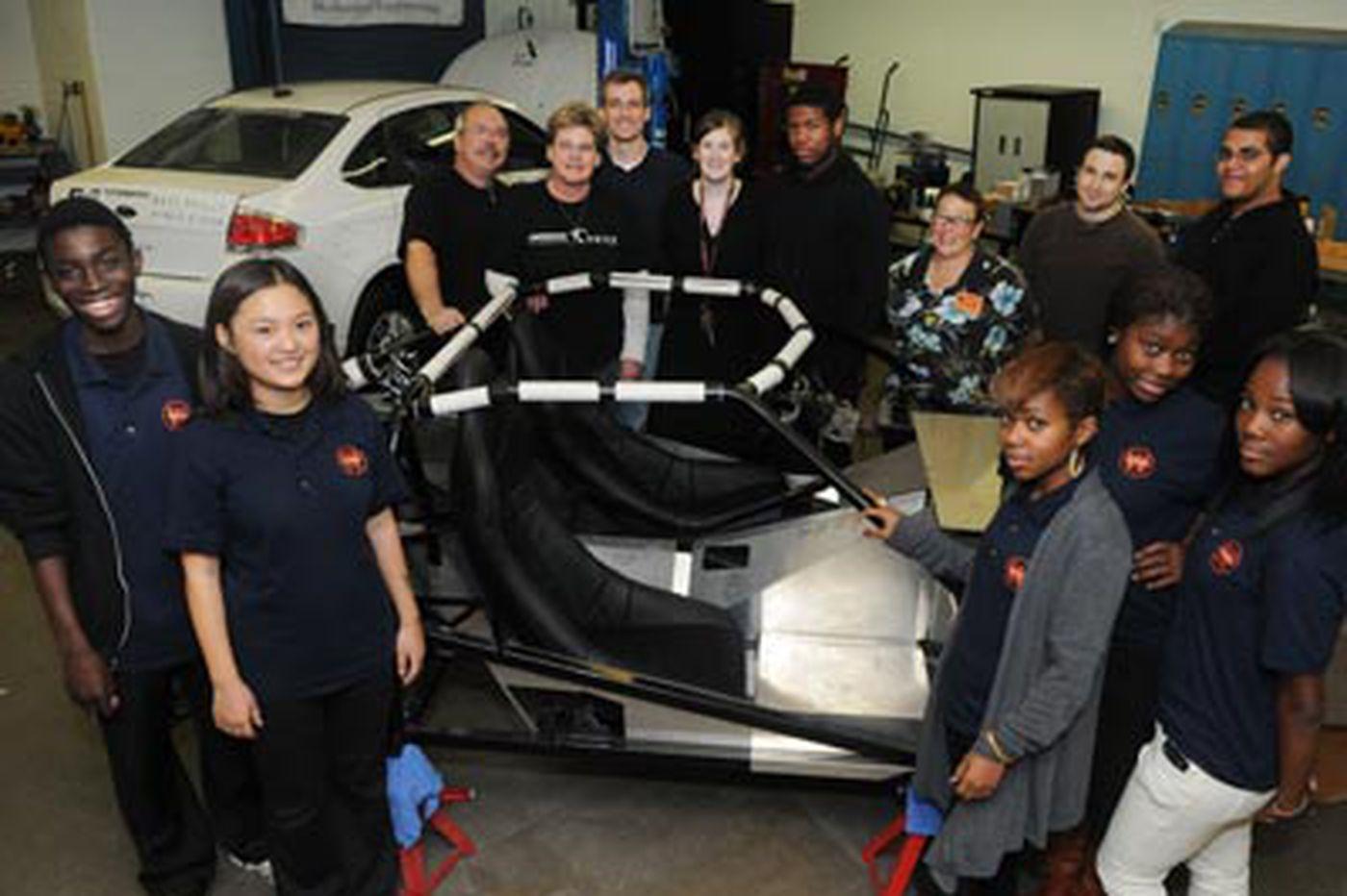 Ronnie Polaneczky: City high-school kids best MIT in $10M car contest