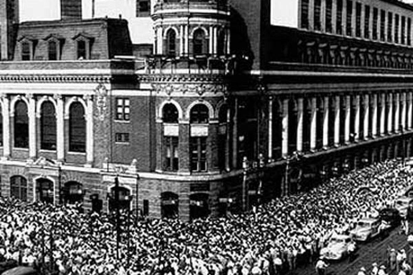 The Athletics' last game in Philadelphia