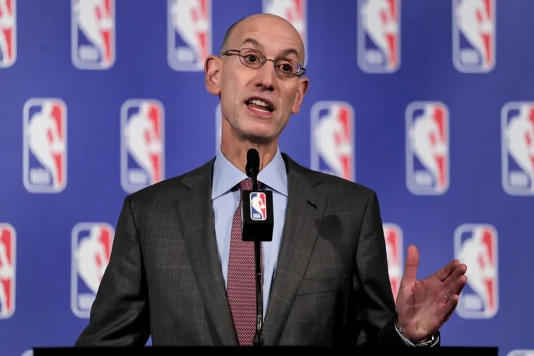 """""""Analytics are part and parcel of virtually everything we do now,"""" commissioner Adam Silver has said."""