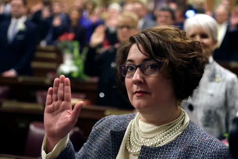 """Pennsylvania state House Rep. Danielle Friel Otten (D-Chester County) is under fire for comparing Sunoco pipeline workers to """"nazis"""" in a Tweet. She won election in November, partly, as a resident whose home is near the controversial gas pipeline under construction."""