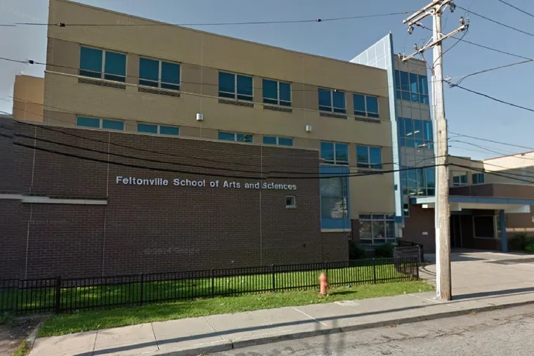 The Feltonville School of Arts and Sciences on East Courtland Street.