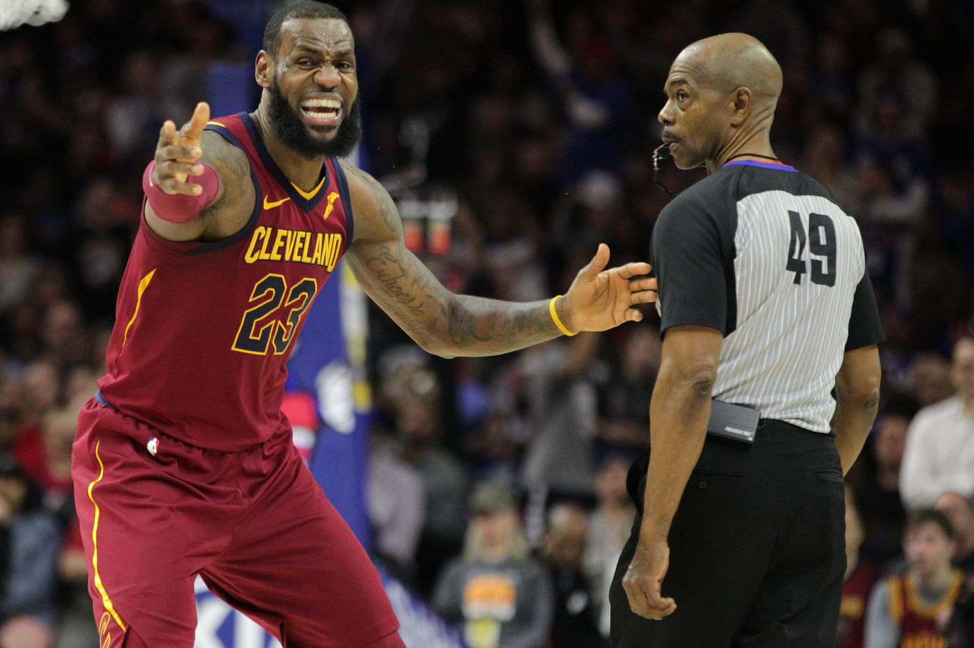 LeBron James is joining Paul George in free agency. What are the Sixers   chances of landing one of them  48df8dc53