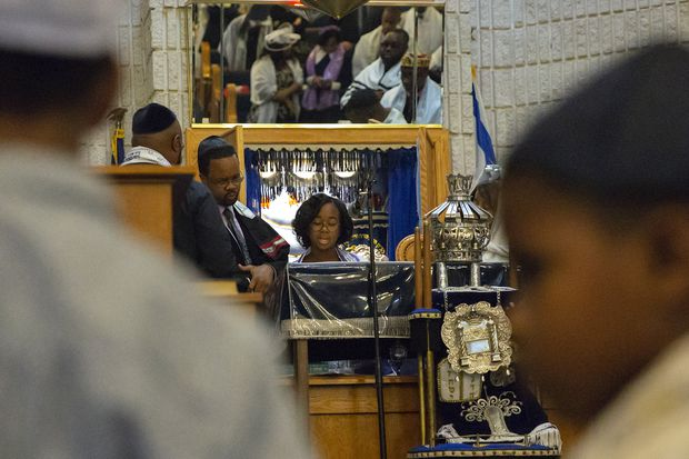An African-American synagogue in Philly: 'We don't want people to come to shul and go to sleep.'