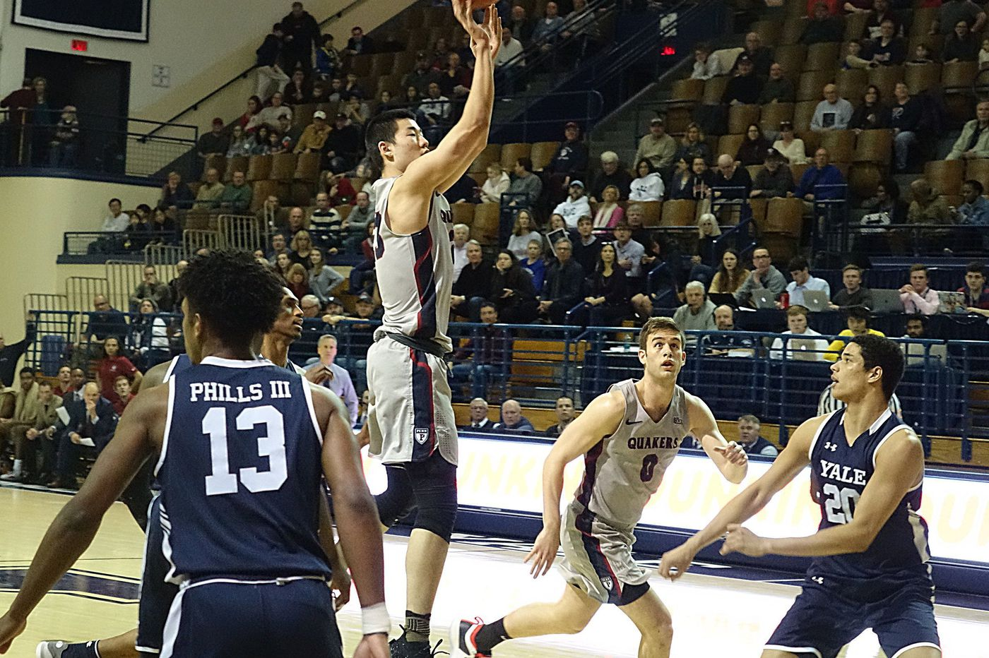 Penn loses to Yale, 78-65, as Ivy League woes continue