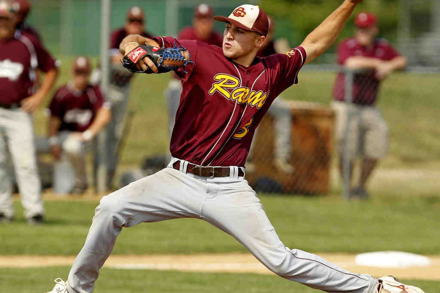 Rams' Brown dazzles Lancers with no-hitter