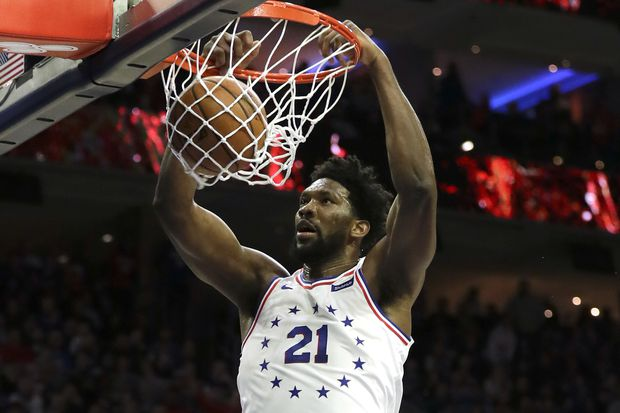 'Hungry' Joel Embiid reminds Dr. J of Moses Malone | Marcus Hayes