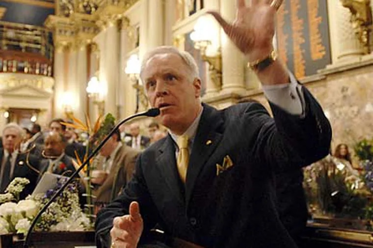 State Rep. Bill DeWeese (D., Green) says his latest bill to expand gambling could bring in an additional $200 million to $300 million in tax revenue for the state. (Bradley C. Bower/AP file photo)
