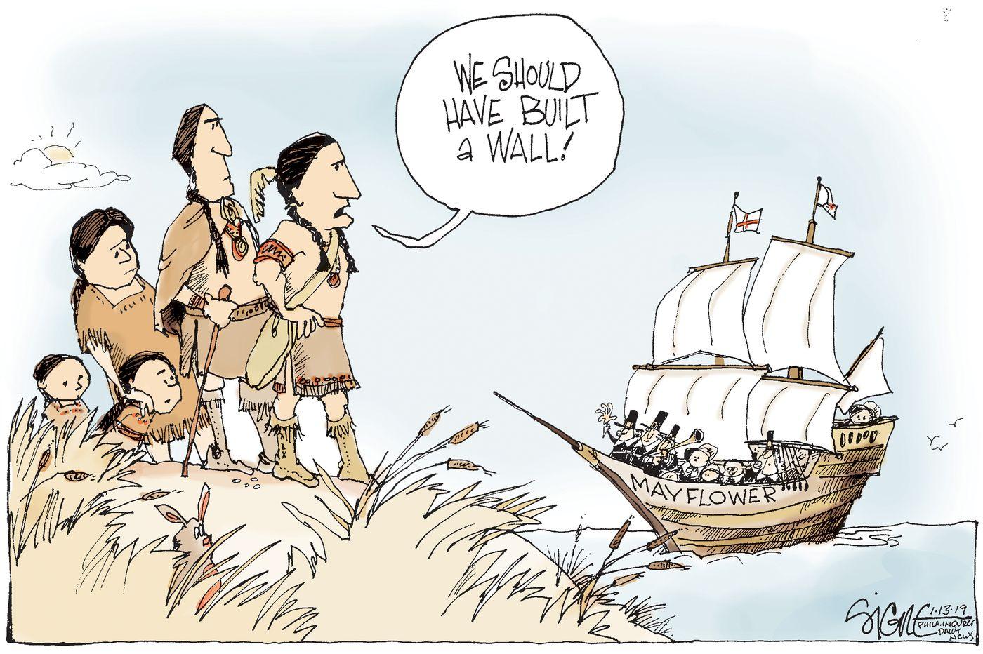 Walling Off Immigrants