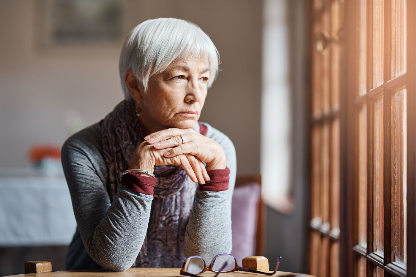 The older you get the more time you spend alone. That can mean more health problems.