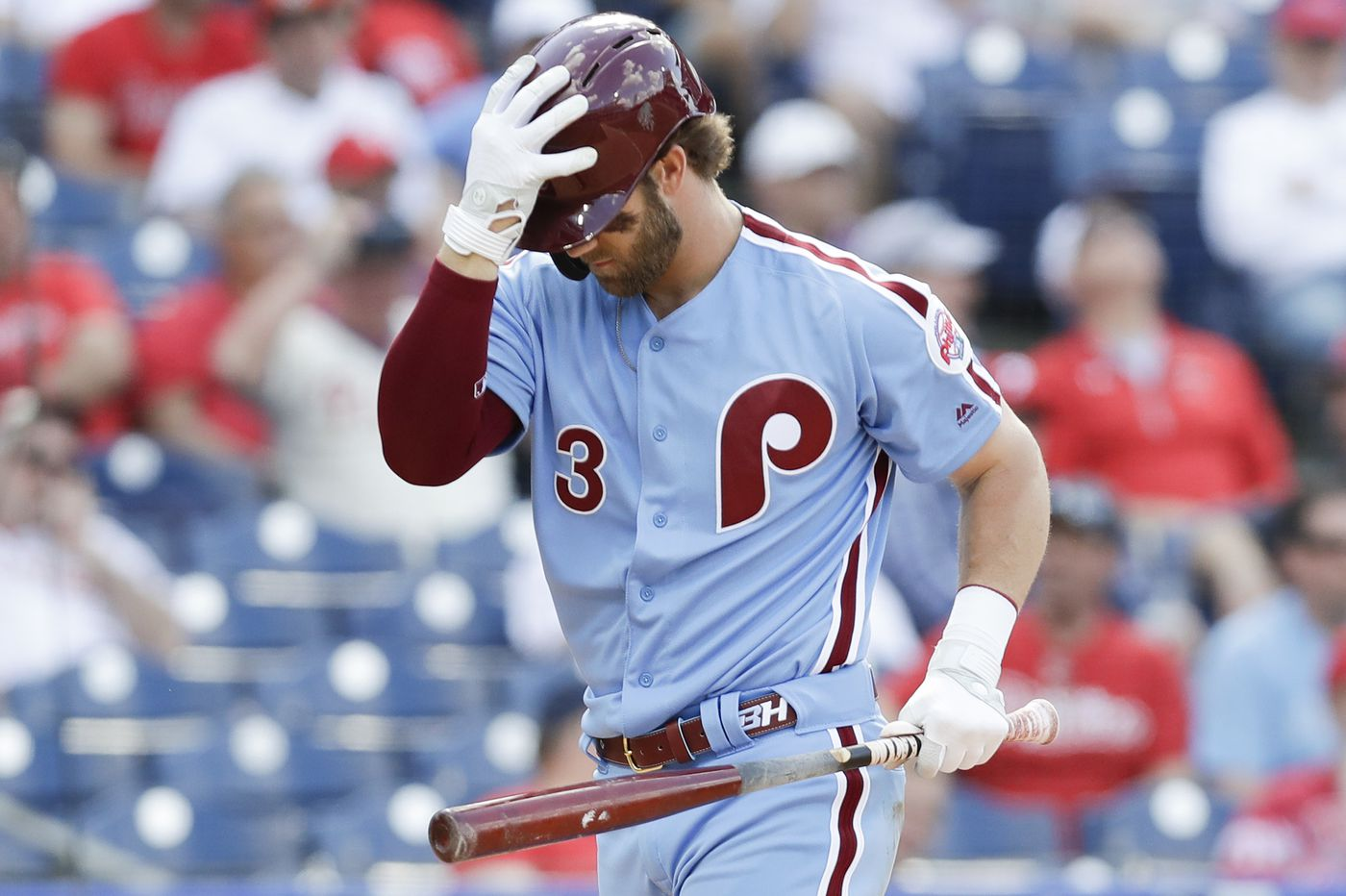 Phillies need Bryce Harper to emerge from slump if they want to be among baseball's elite | Bob Brookover