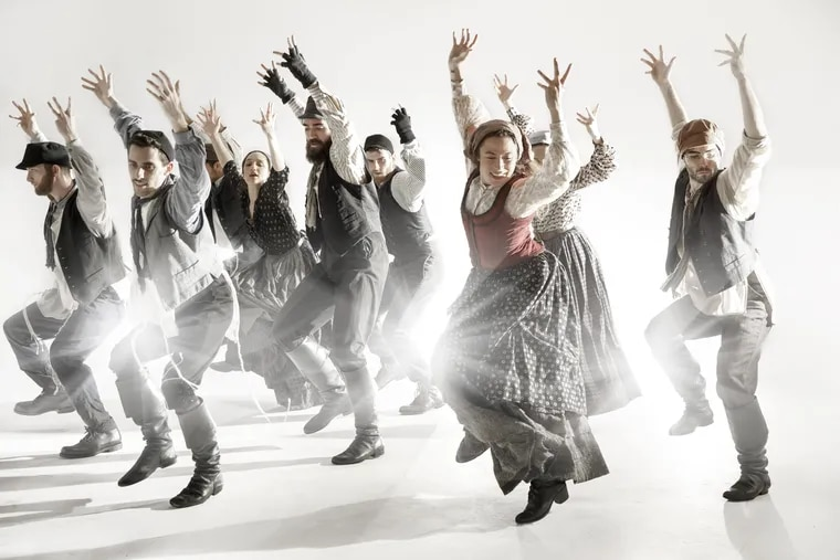 """The cast of """"Fiddler on the Roof,"""" Oct. 23-28 at the Academy of Music."""