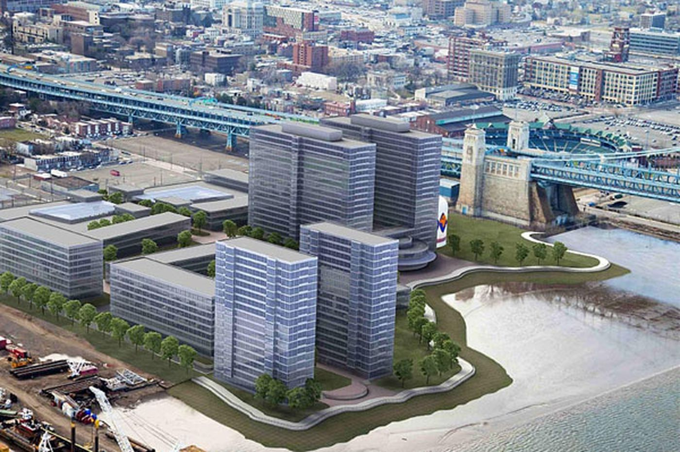 Camden waterfront eyed for World Trade Center