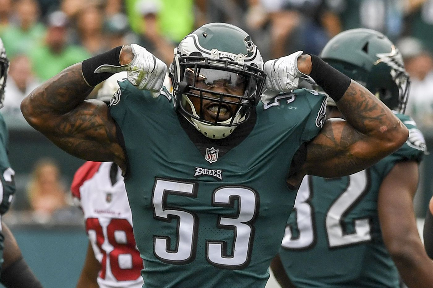 What is Eagles linebacker Nigel Bradham trying to improve in 2018? | Early Birds